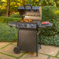 char griller 3001 gas grill grilling area thumbnail