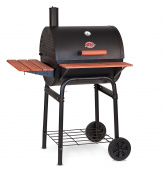 Char-Griller 2123 Wrangler 635 Square Inch Charcoal Grill / Smoker Review thumbnail