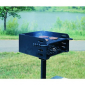 Heavy Duty Park Style Charcoal Grill Review thumbnail